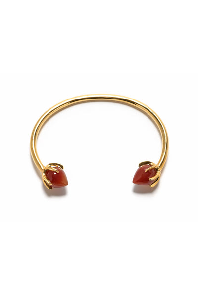 Eclipse Cuff In Carnelian