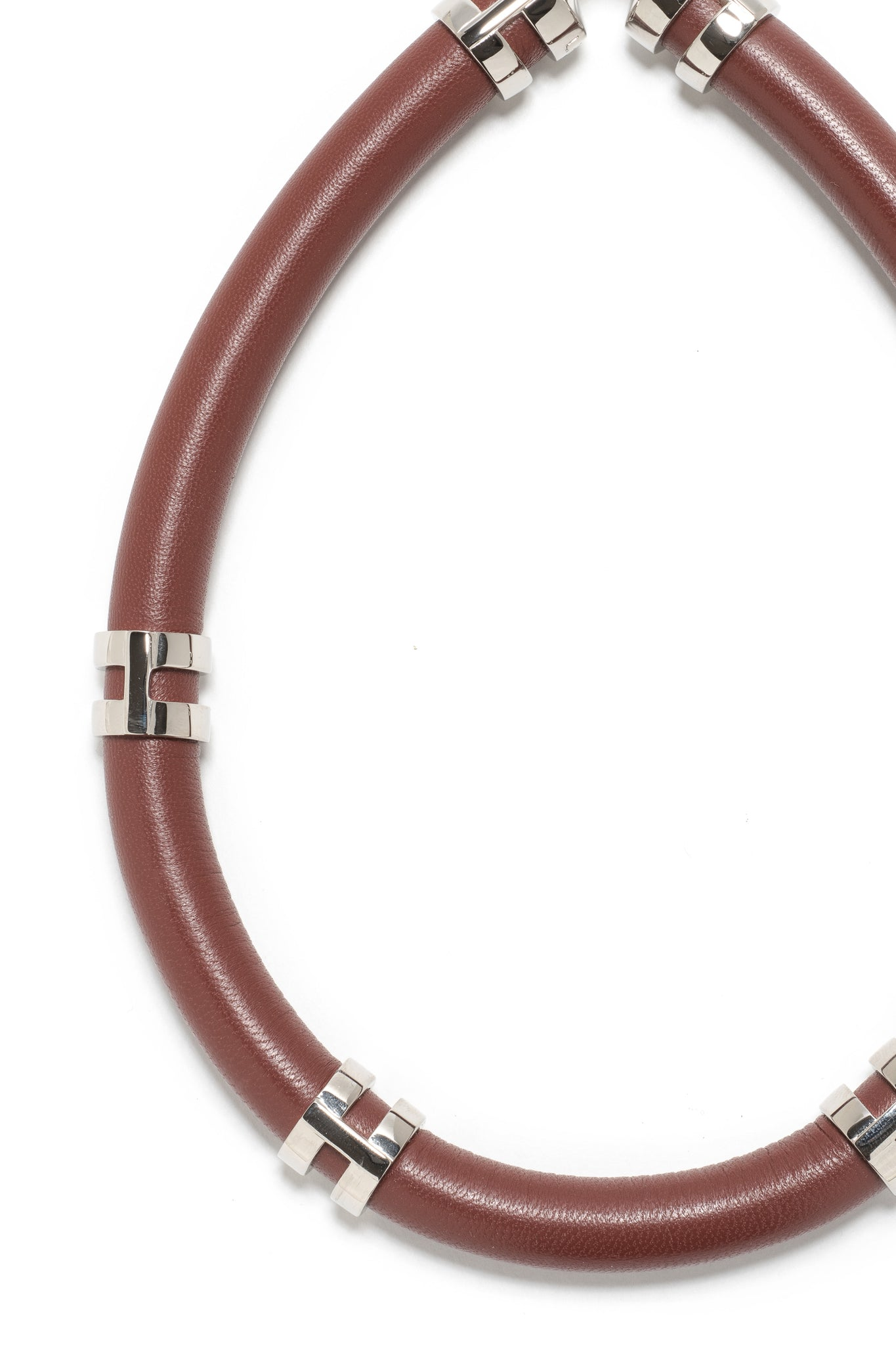 Double Take Necklace In Rust
