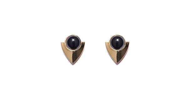 Pre-Columbian Earrings In Black
