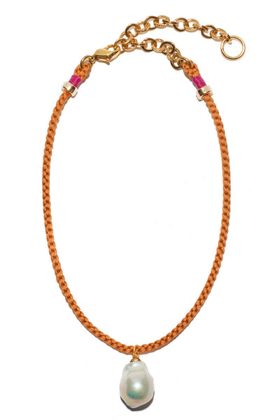 Best Friend Necklace In Camel