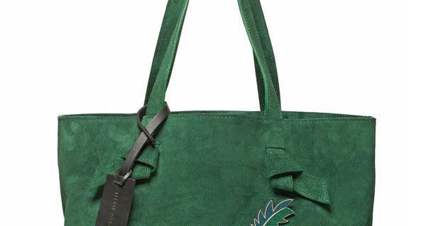 Essential Tote In Green Icon