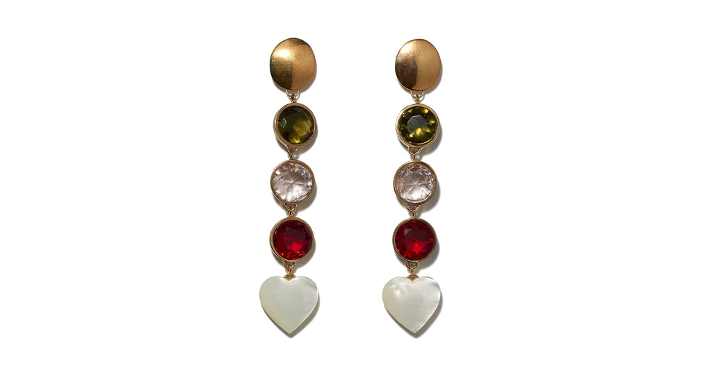 Nonna Heart Earrings