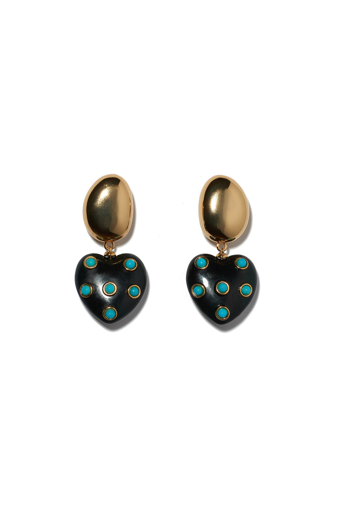 Amore Earrings In Turquoise
