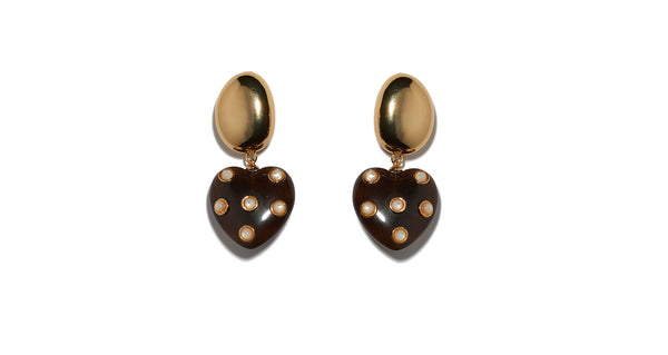 Amore Earrings In Pearl