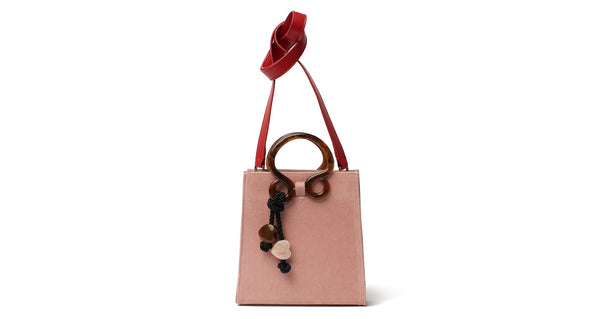 Pronto Purse In Velvet Rose