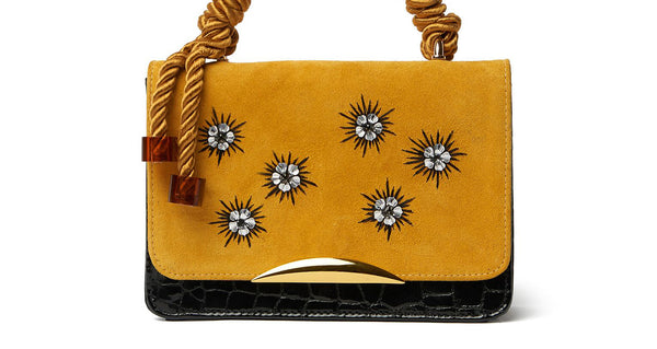 Beatrice Purse In Crystal Croc