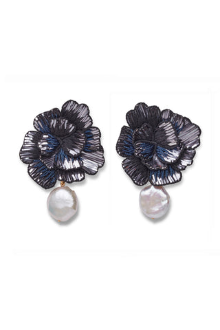 Cosmic Flower Earrings