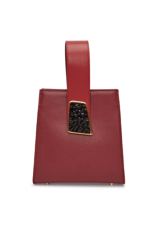 Pronto Purse In Geo Red