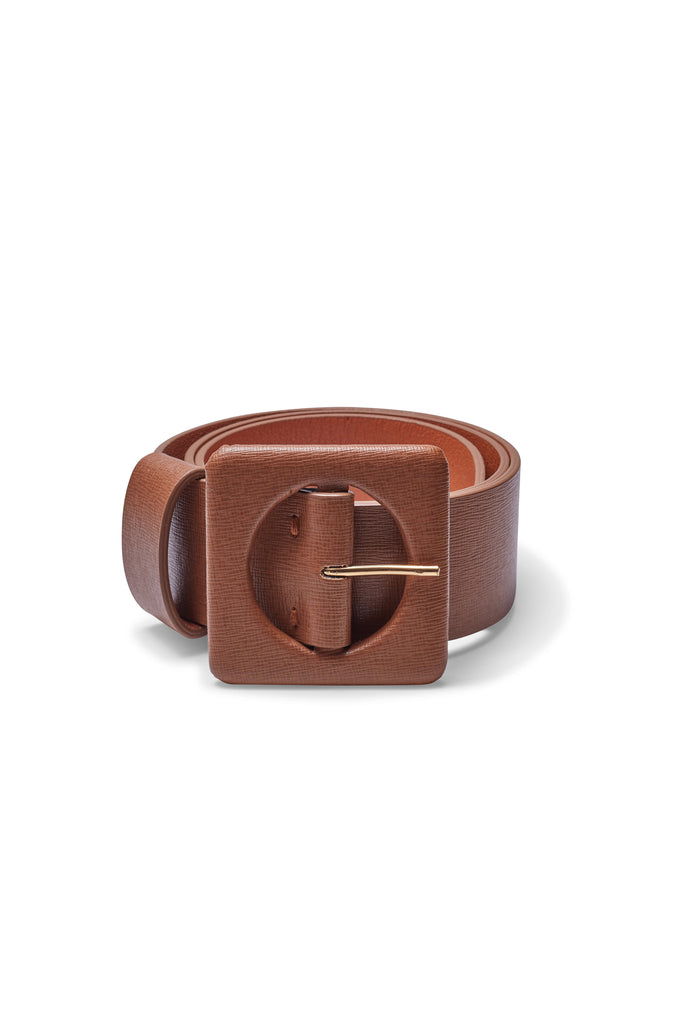 Agnes Belt In Tan Leather
