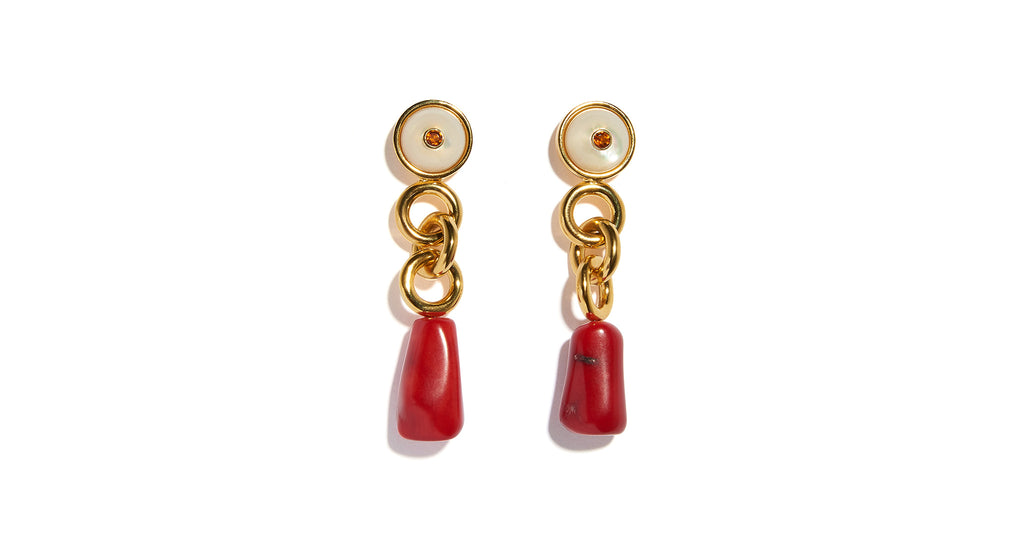 Full view of the Eden Earrings. Looking for a little piece of paradise? Meet the Eden Earrin...