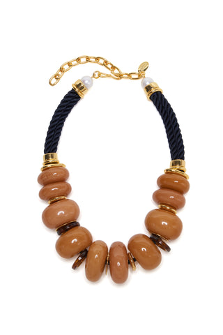 Botero Necklace In Honey