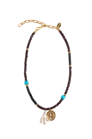Etruscan Charm Necklace