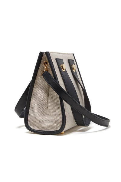Thumbnail side-view of Niki Bag In Oxford. Craving more structure? Take cues from our sophis...
