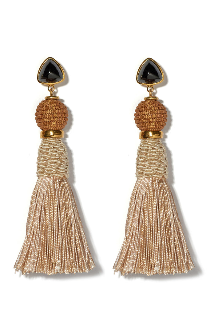 Modern Craft Earrings In Sand