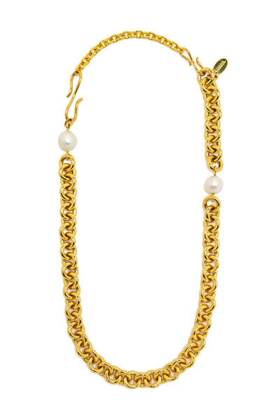 "4.25"" Cable Gold Extender on Necklace"