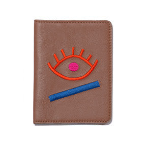 Passport Case In Evil Eye