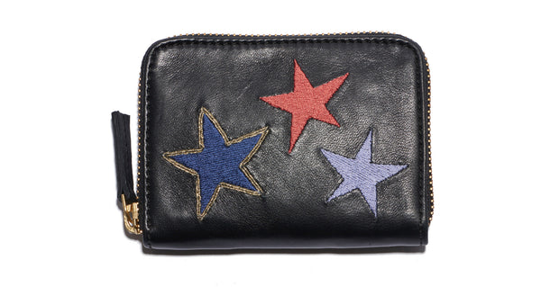 Zip Coin Purse In Stars