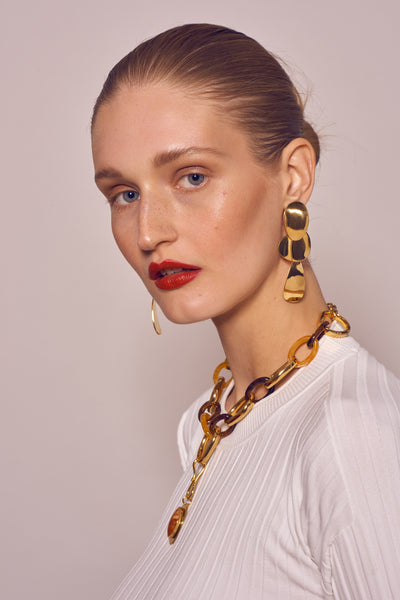 Gold Porto Earrings