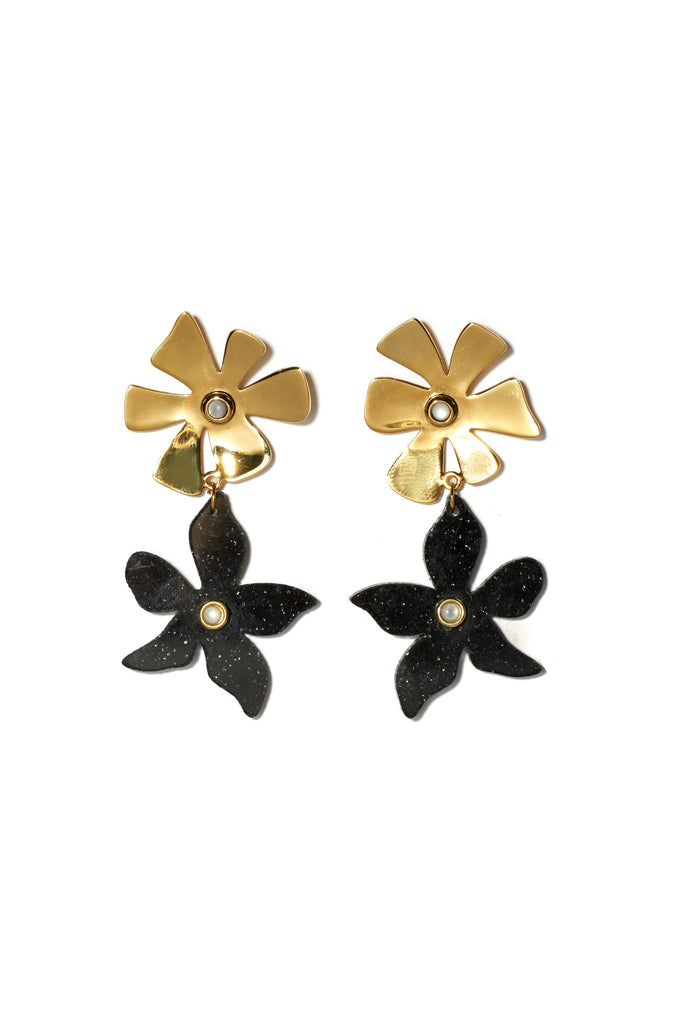 Dona Earrings In Black