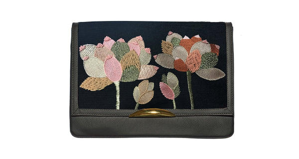 Port Of Call Clutch In Portugal Flower