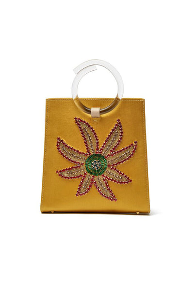 Pronto Purse In Crystal Flower