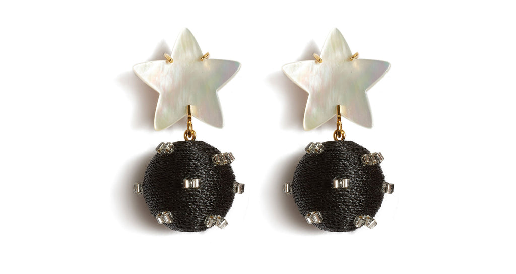 Full view of Starburst Earrings. Don't settle for the dark side of the room-- you'll...