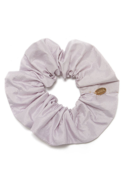 Silk Scrunchie In Lilac