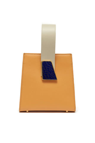 Pronto Purse In Tangerine