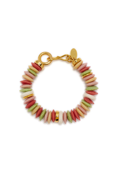 Thumbnail close-up of Candy Bracelet in Neapolitan. Perfect stacked or worn on its own, the ...