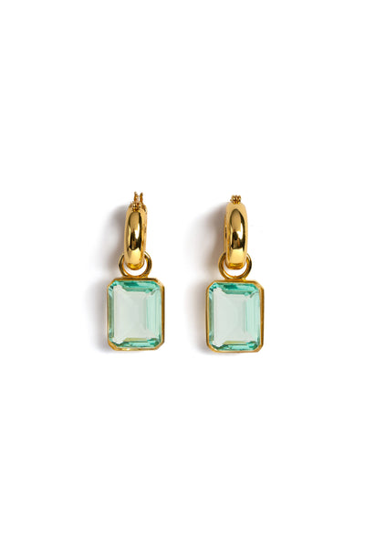 Jubilee Earrings In Teal