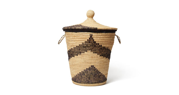Large Palm Arrow Basket