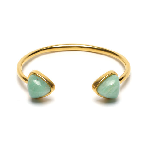 Inca Cuff In Light Green
