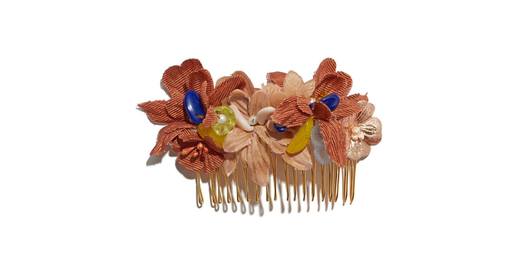 Hair Comb In Desert Flower