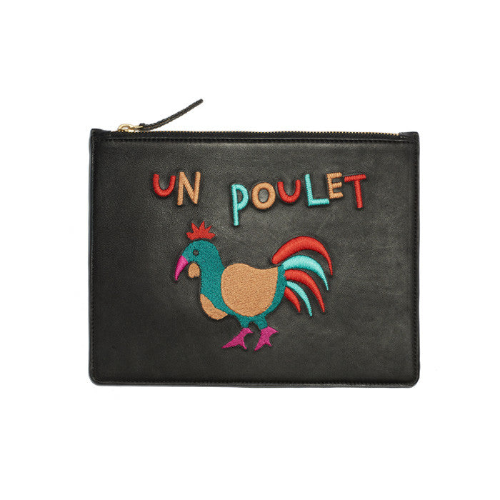 Zip Pouch In Un Poulet