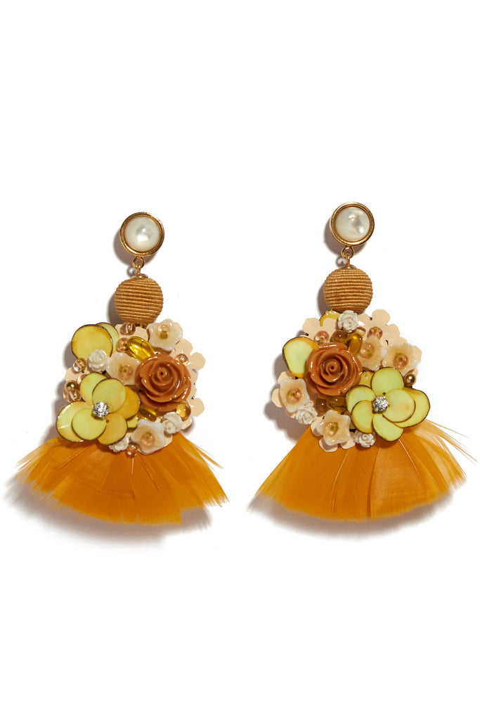 French Marigold Earrings