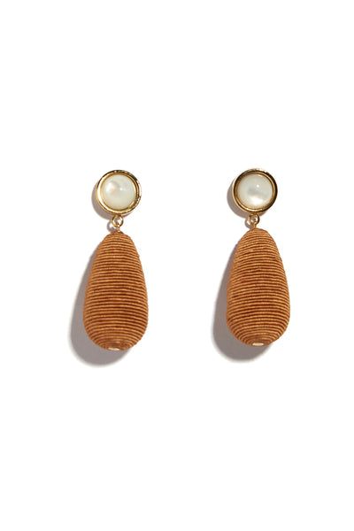 Terra Cotta Drop Earrings