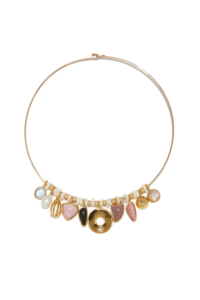 Best Lady Necklace In Rose