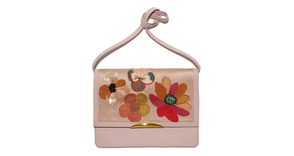 Port Of Call Clutch In Posy