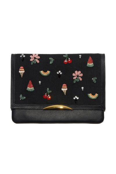 Port Of Call Clutch In Picnic