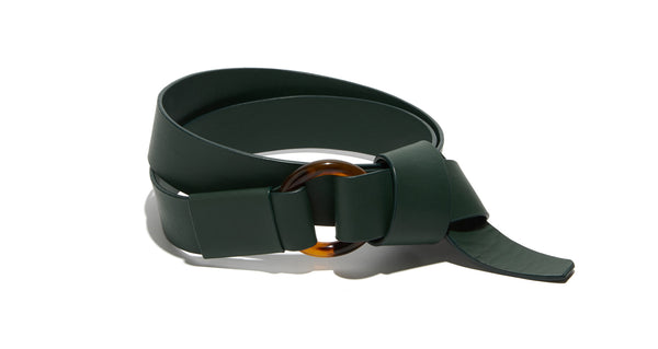 Gio Wrap Belt in Forest