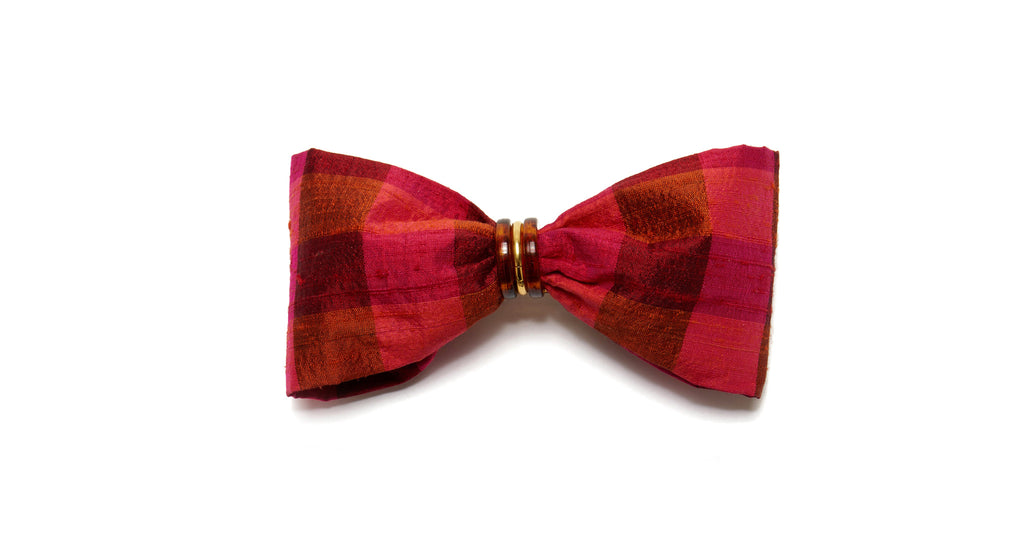 Full view of Good Hair Day Bow In Magenta. The sweetest way to raise the style profile of yo...