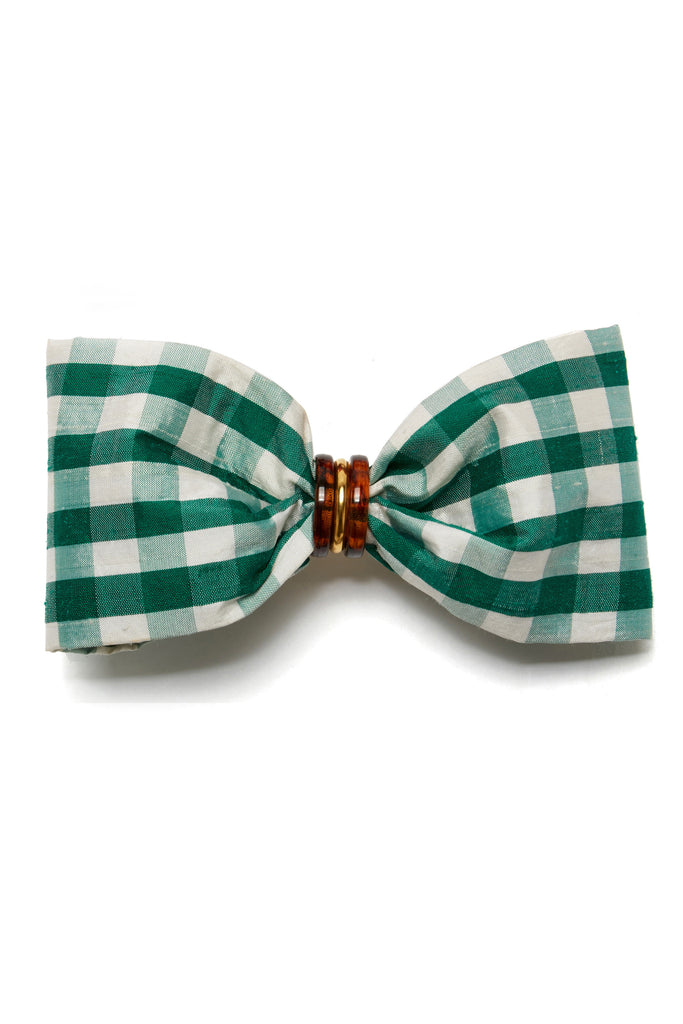 Good Hair Day Bow In Green