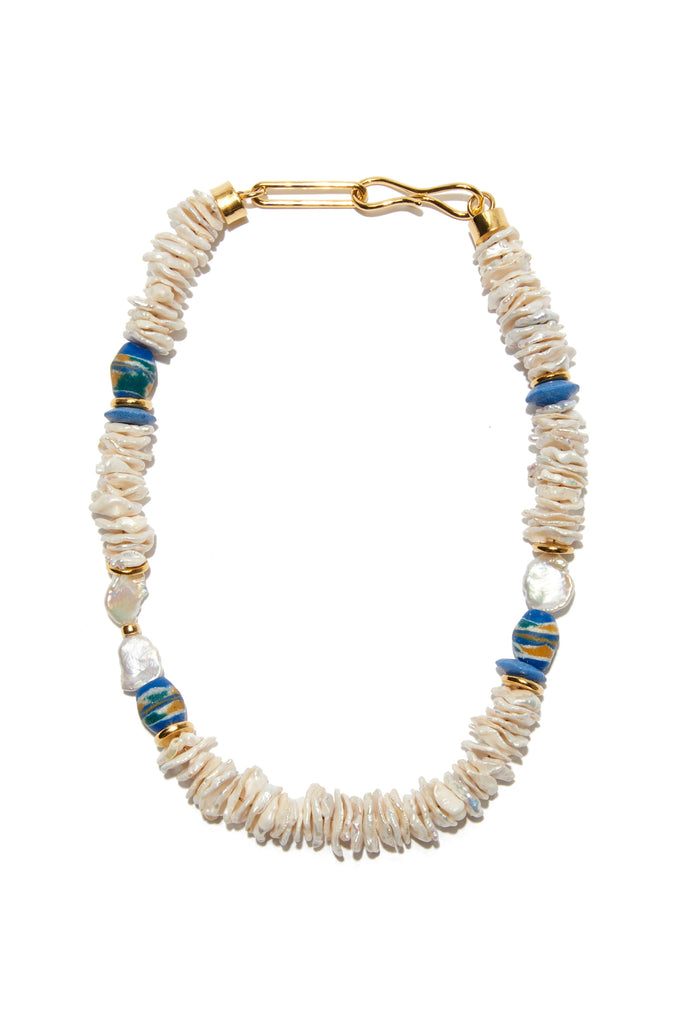 Laguna Necklace In Oasis Pearl