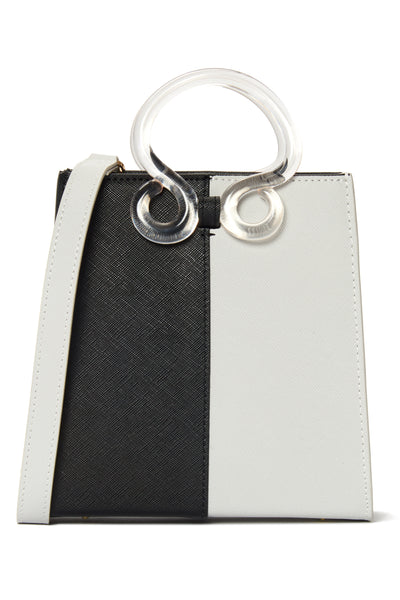 Pronto Purse In Black and White