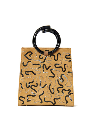 Pronto Purse In Sideways Squiggle