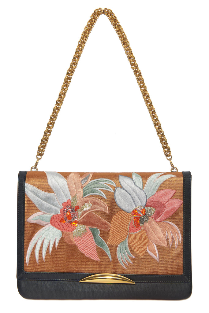Port Of Call Clutch In Tropical Canopy