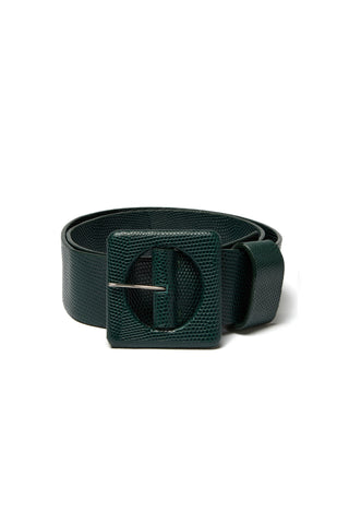 Agnes Belt In Forest Lizard