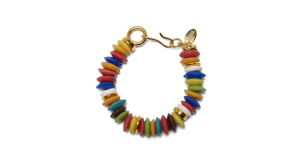Full view of Candy Bracelet. Wear the rainbow and add a little sweetness to your stack. The ...