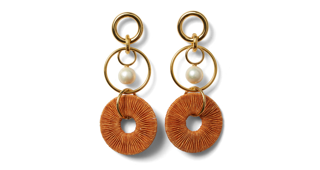 Full view of Santa Ana Earrings. Rekindle that summer style passion in this gorgeous pair of...