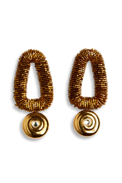 Bronze Oasis Earrings